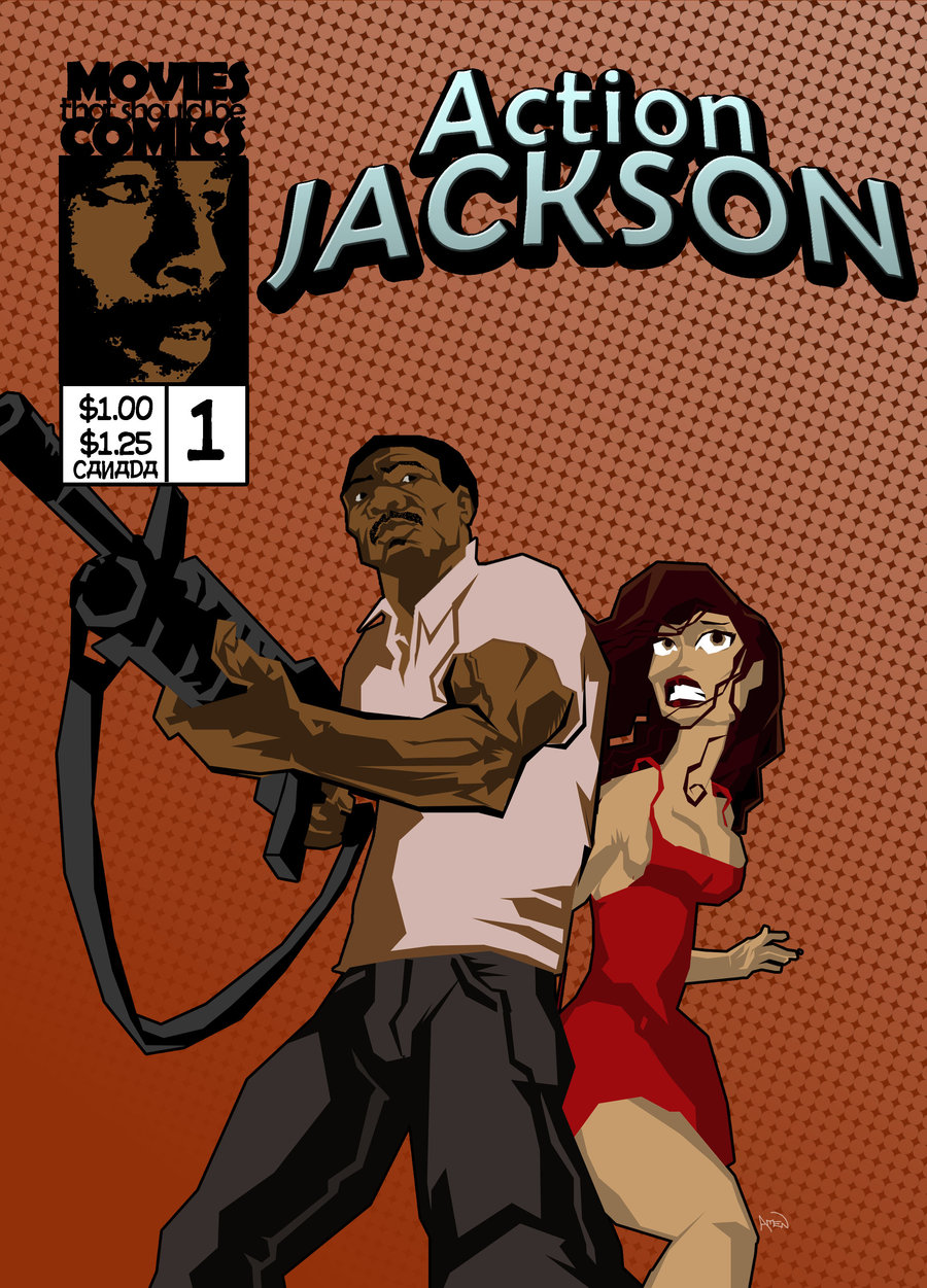 Movies that should be comic books, 17: Action Jackson