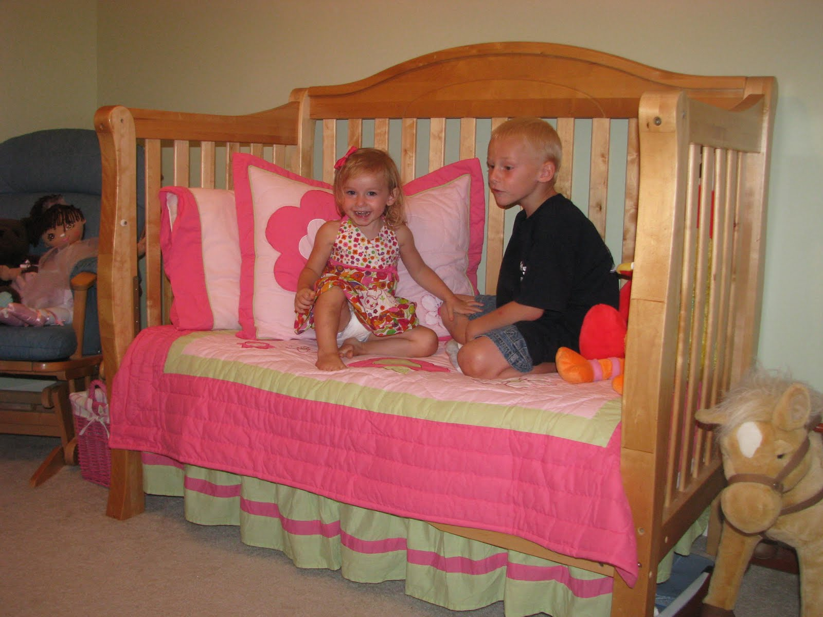 Big Girl Beds Jackson Family Katelyn 39s Big Girl Bed