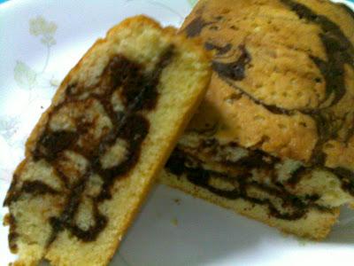 Nutella Marble Cake Recipe Singapore