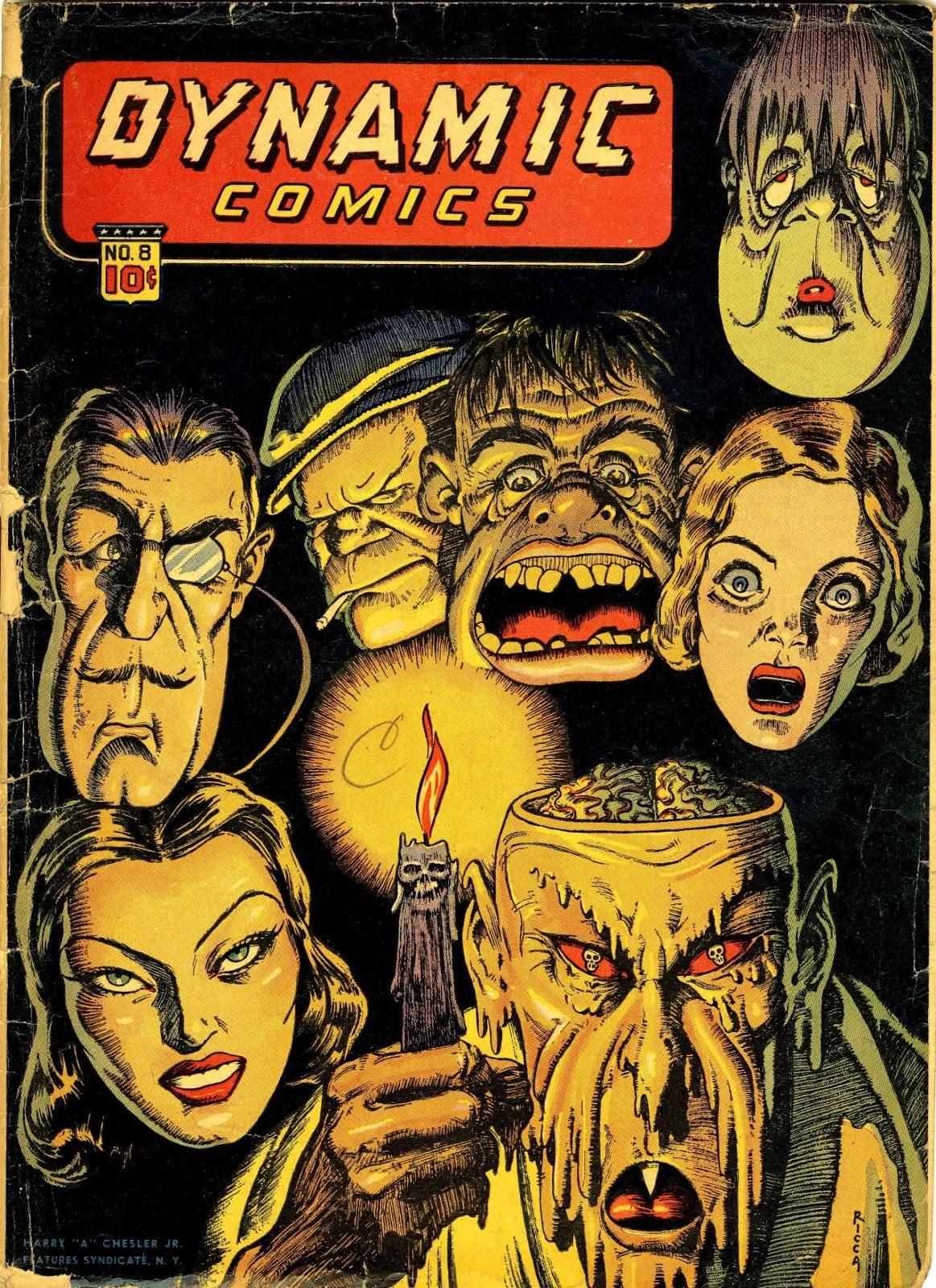 Dynamic Comics 8 Page 1