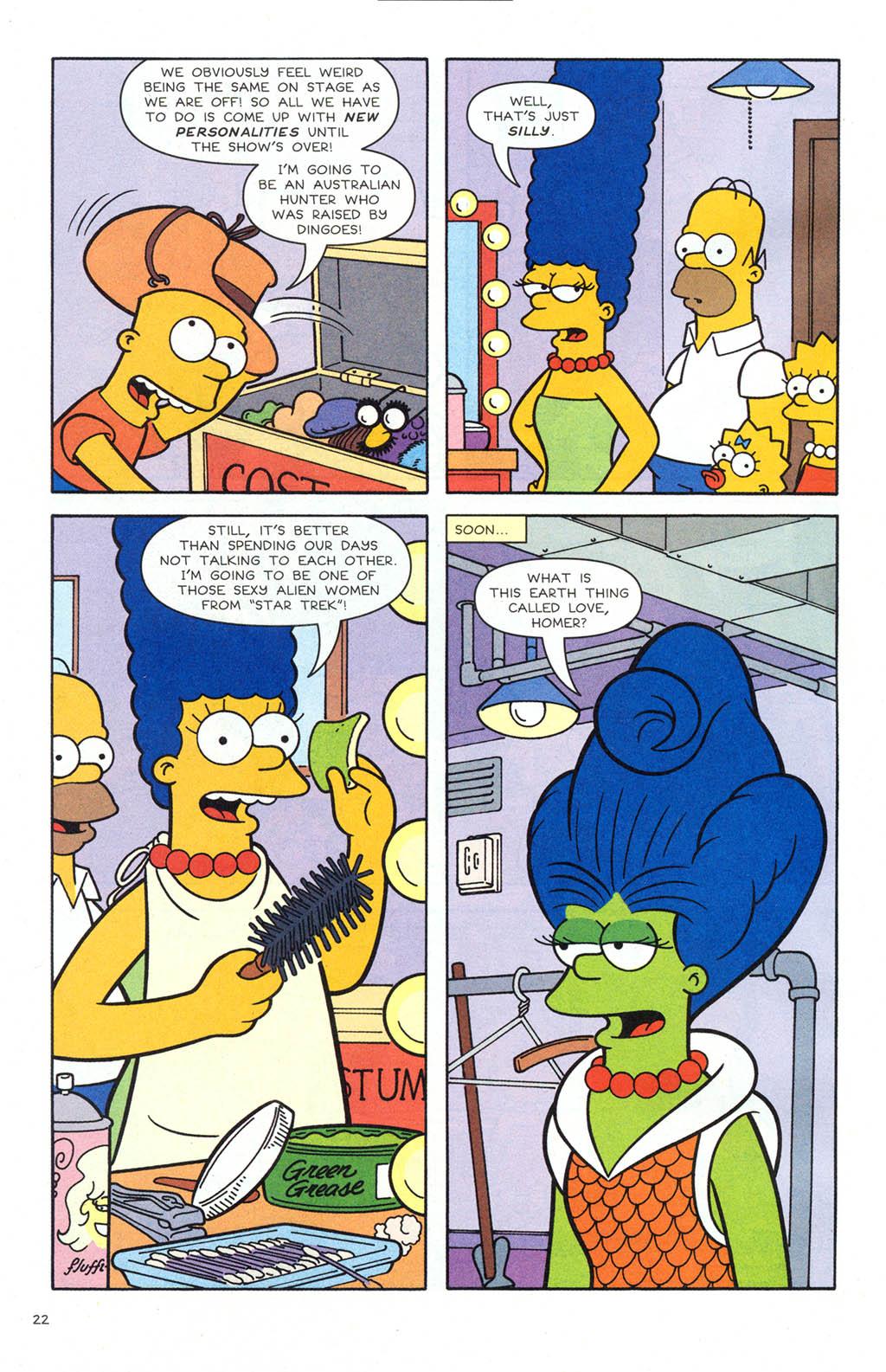 Read online Simpsons Comics comic -  Issue #106 - 23