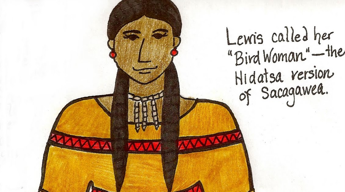 Paper Dali Corps Of Discovery Sacagawea