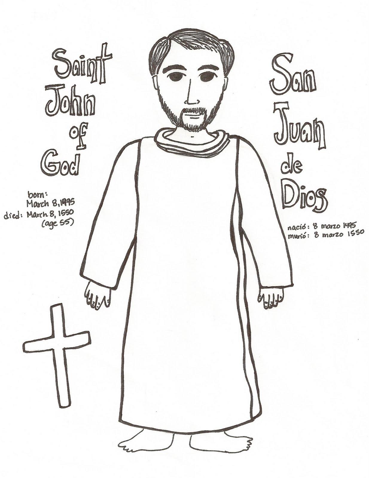 Paper Dali: Saint John of God / San Juan de Dios