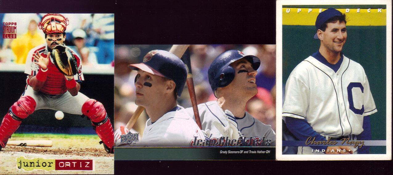 Indians Baseball Cards Getting Jackd From Across The Pond