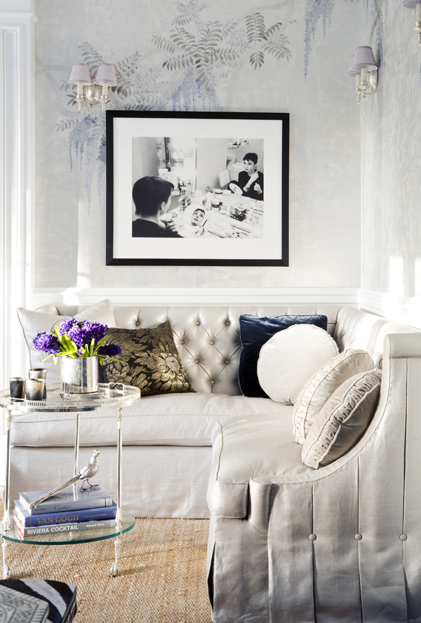 Chic interiors inspired by the one and only Audrey - Decorology