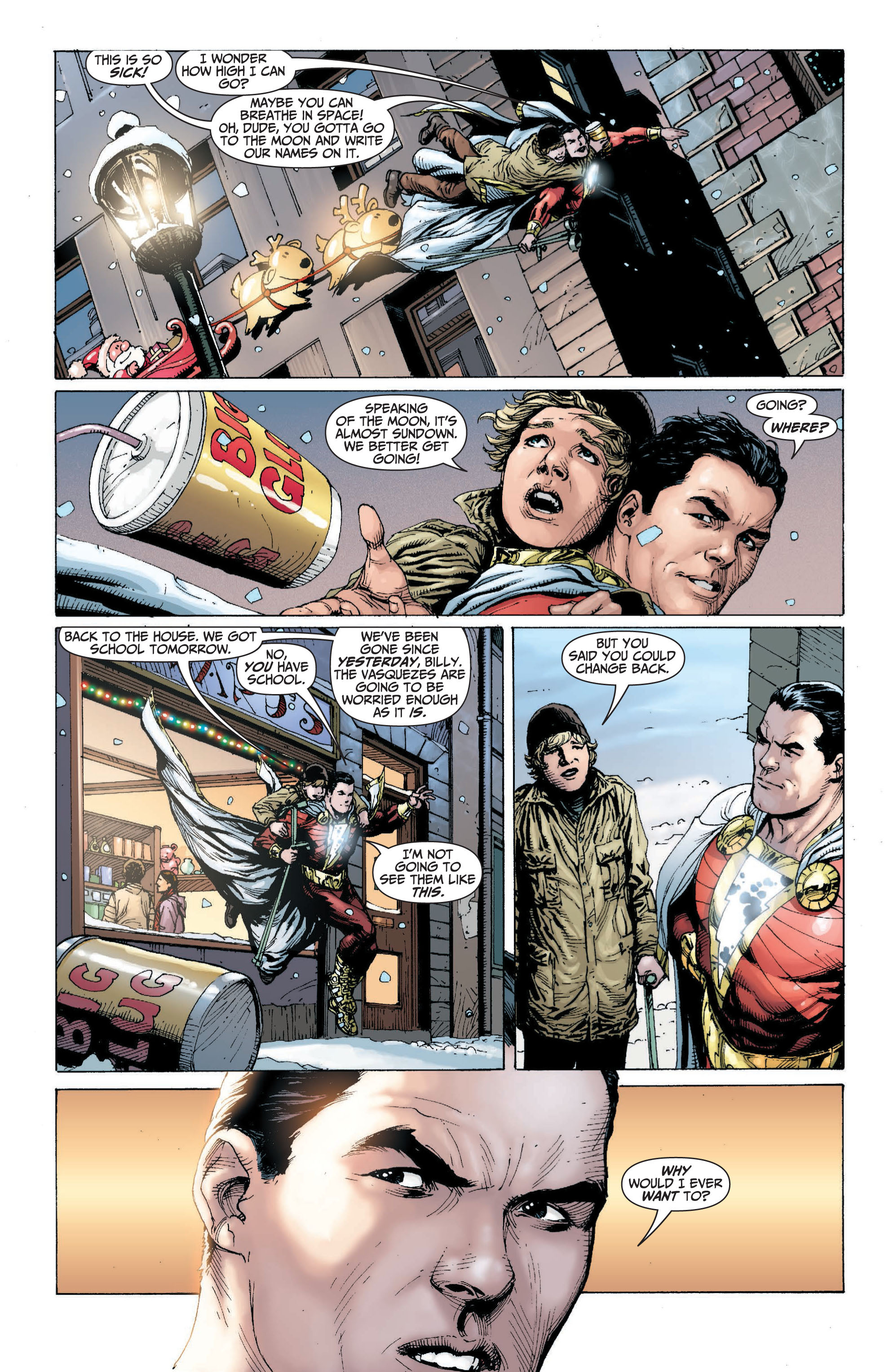 Read online Shazam! (2013) comic -  Issue #1 - 110