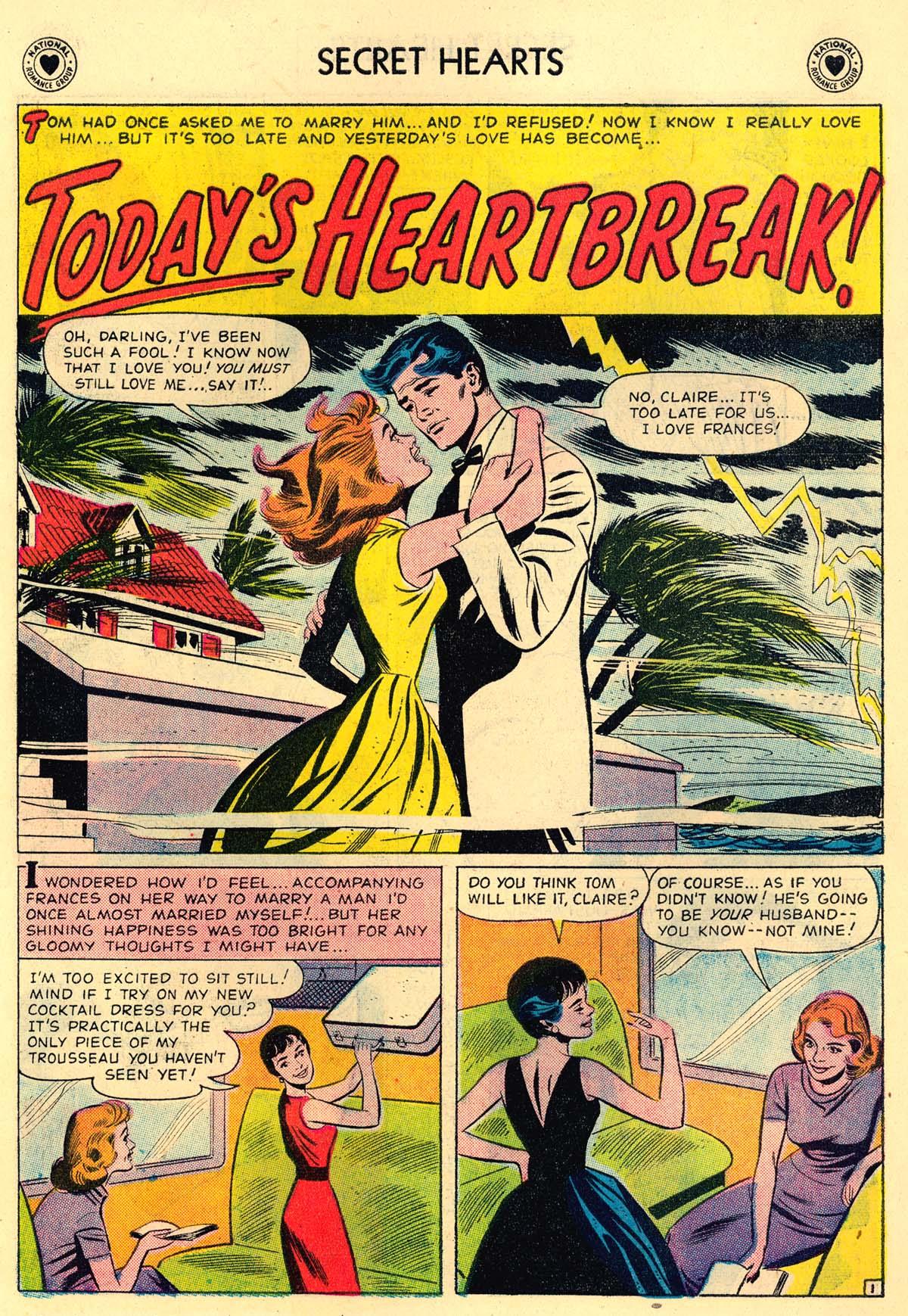 Read online Secret Hearts comic -  Issue #43 - 10
