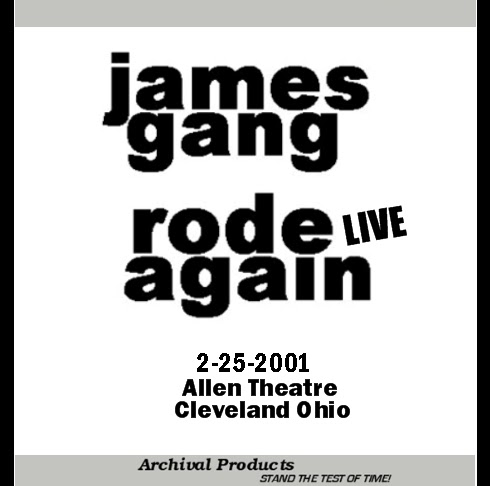 Sharing Needles: JAMES GANG LIVE in CLEVELAND 2001