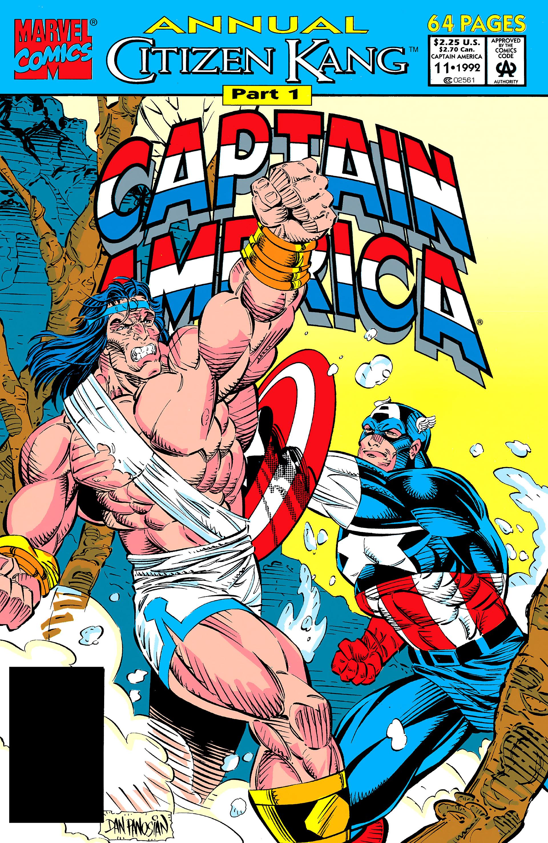 Read online Captain America (1968) comic -  Issue # _Annual 11 - 1
