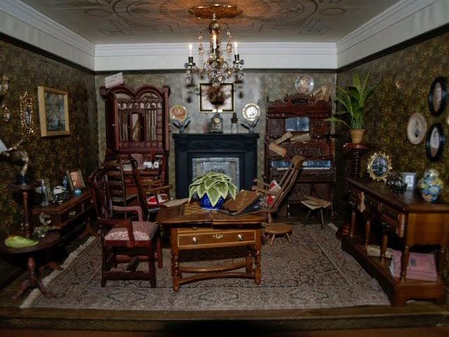 susan Trodden: Edwardian/Victorian Living room