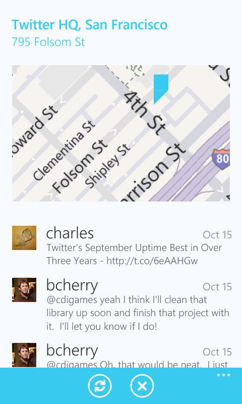Twitter5 - Twitter para Windows Phone 7