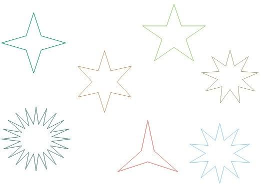 Desenhos De Estrelas Colorir E Pintar