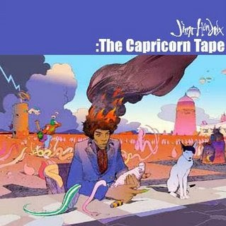 Rock On Vinyl Jimi Hendrix Capricorn Tape 2003 Ex