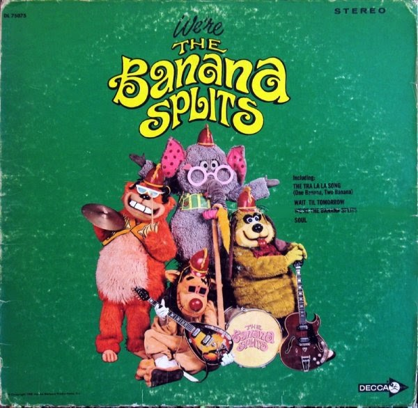 Rock On Vinyl Wock On Vinyl Banana Splits We Re The