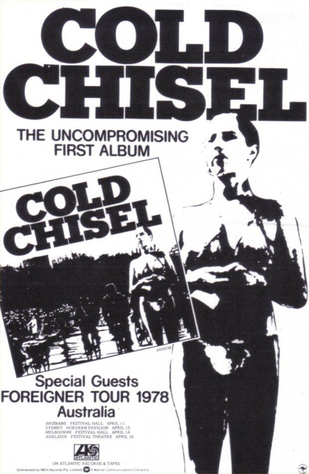 Rock On Vinyl: Cold Chisel - Selftitled (1978) + Bonus Demos