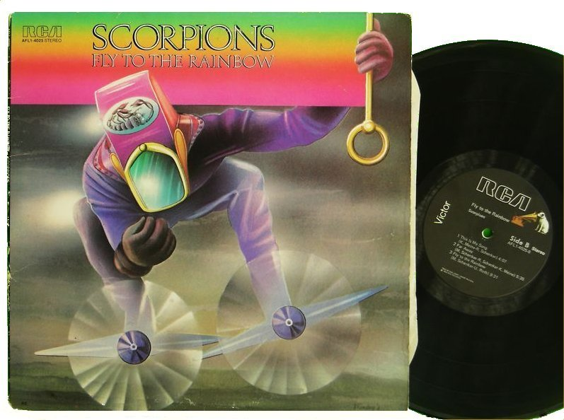 Rock On Vinyl Scorpions Fly To The Rainbow 1974