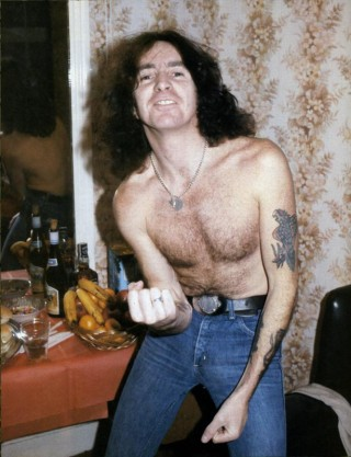 Bon Scott (Ex vokalis AC/DC)