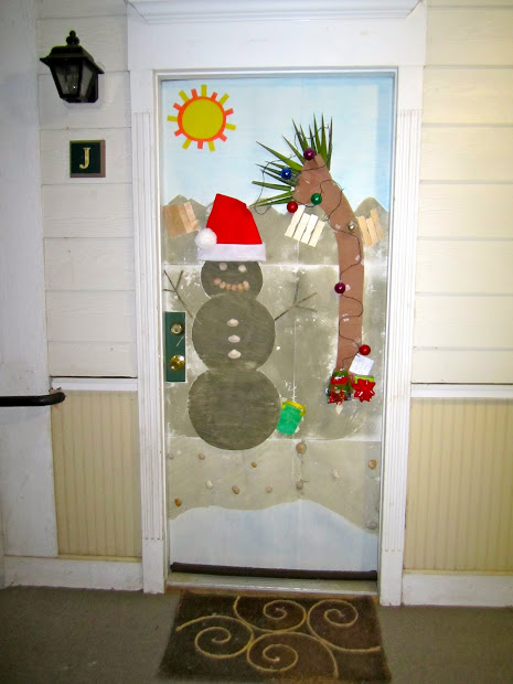 Funny Christmas Door Decorations For Work - Vtwctr