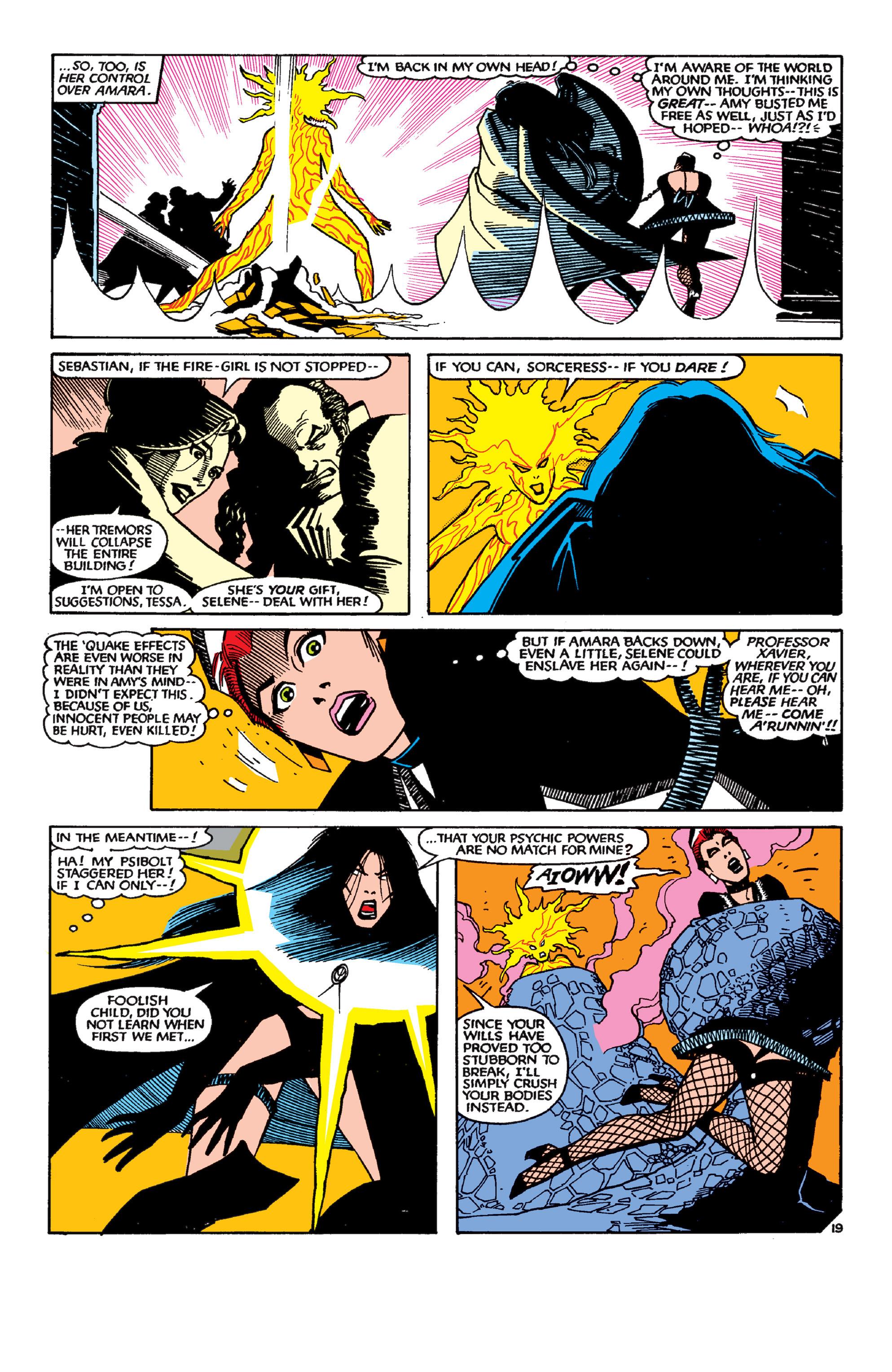 Read online Uncanny X-Men (1963) comic -  Issue #189 - 19