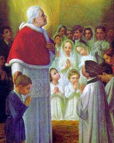 Risultati immagini per pio x il papa eucaristico