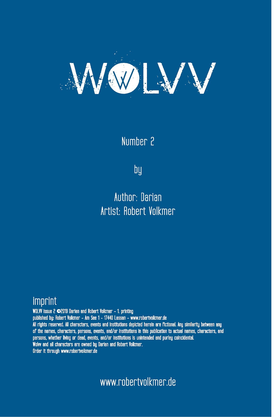 Read online Wolvv comic -  Issue #2 - 2