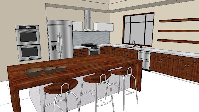 Kitchen And Residential Design Real World Sketchup