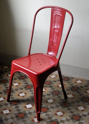 Vintage Kitchen Chairs Red Wire Bavk