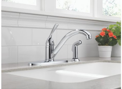 Kitchen Delta Faucet Leaking At The Swivel Base