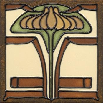 Feature Tile: Arts & Crafts  Arts Craft Tile Egret