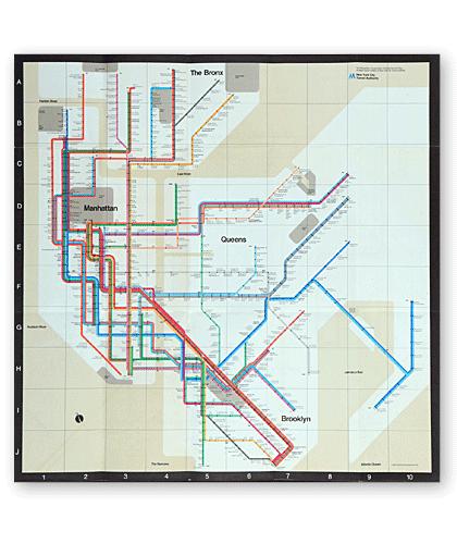 Massimo Vignelli Subway Map Connections.Rico S Rants New Yawk