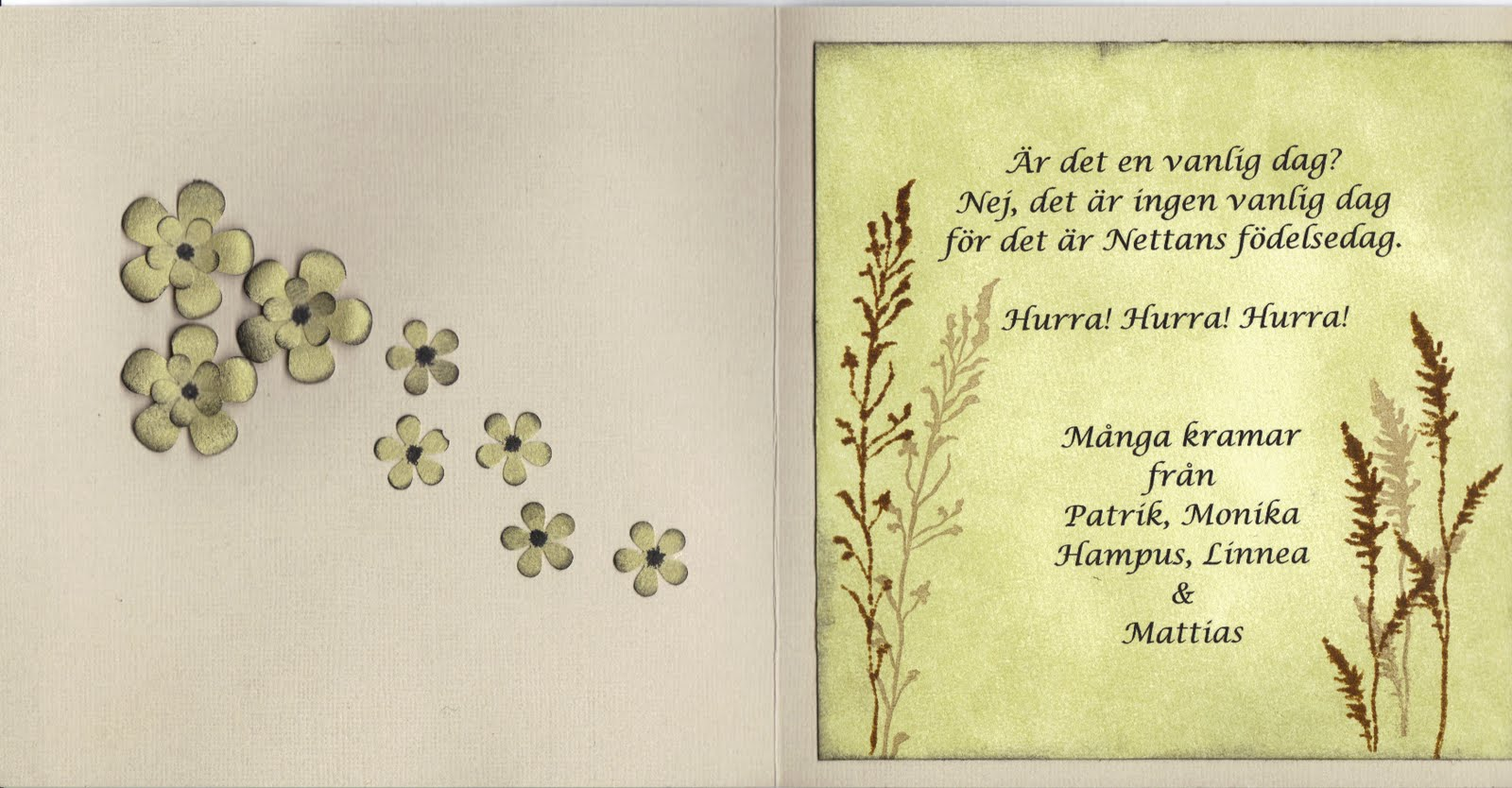 rolig text på födelsedagskort Monkeplonks samlade verk: Ett kort till.. rolig text på födelsedagskort