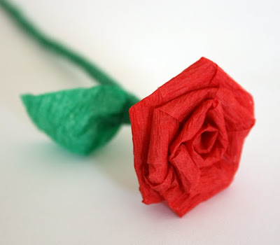 Filth Wizardry Mini Roses From Dollar Store Crepe Paper Streamers
