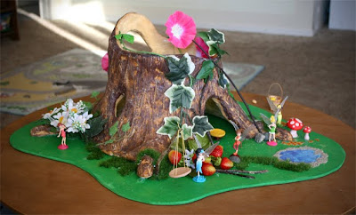 Filth Wizardry Diy Pixie Hollow From Aluminium Foil And