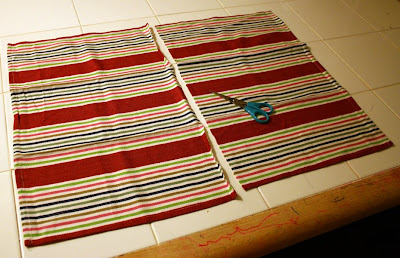 Filth Wizardry: Tea towel skirts