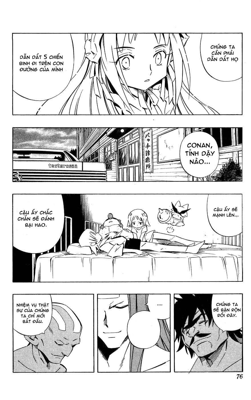 Shaman King [Vua pháp thuật] chap 252 trang 10