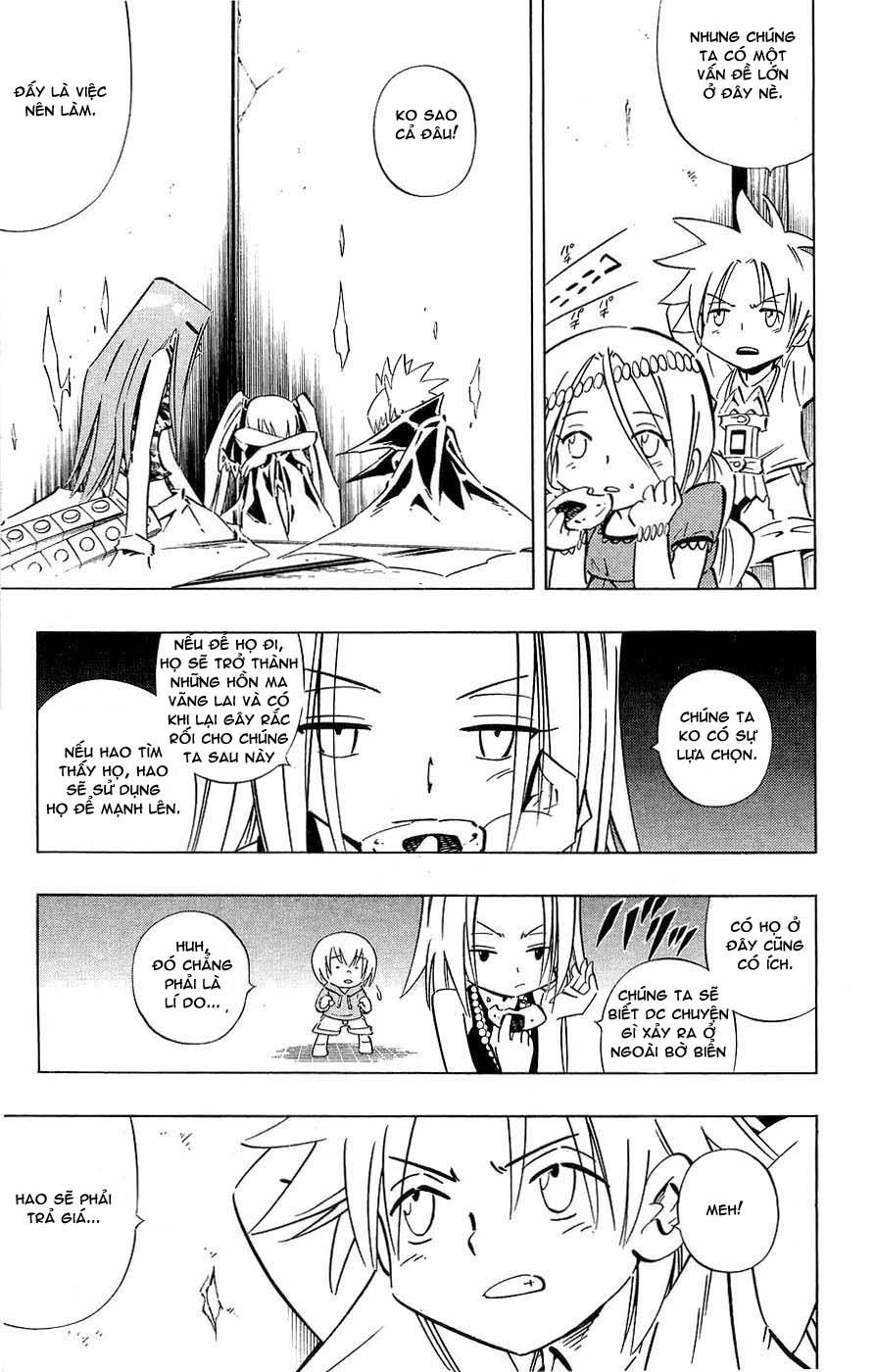 Shaman King [Vua pháp thuật] chap 251 trang 5