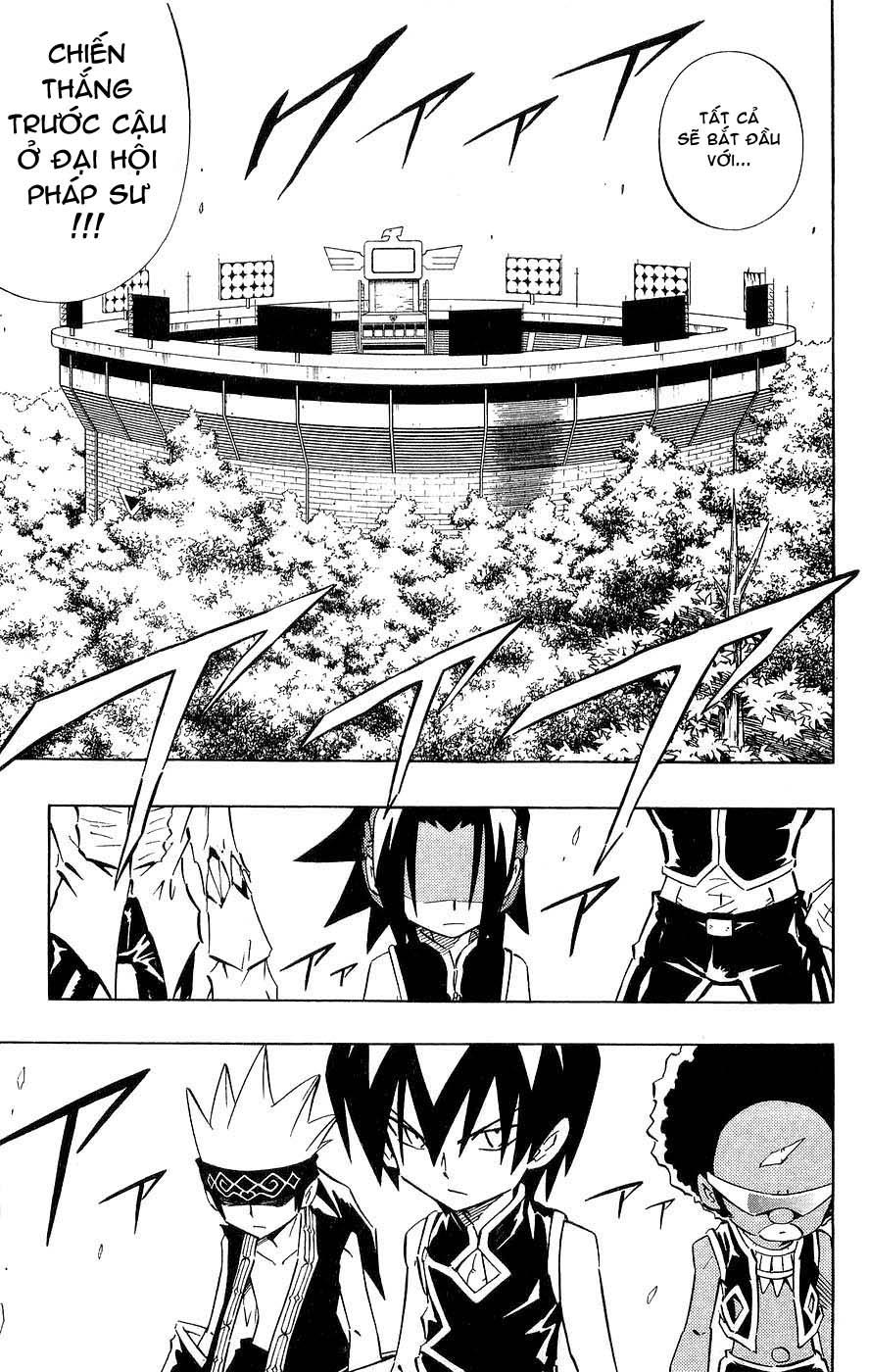 Shaman King [Vua pháp thuật] chap 252 trang 19