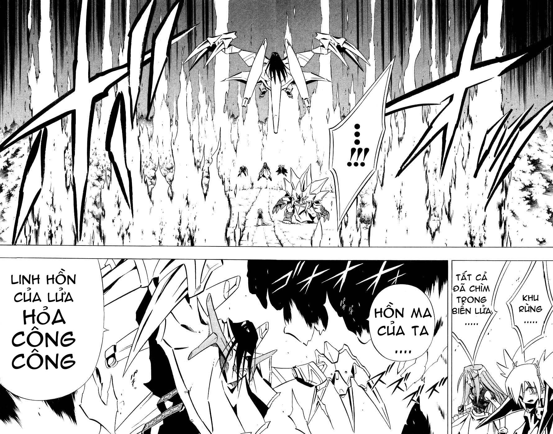 Shaman King [Vua pháp thuật] chap 250 trang 11
