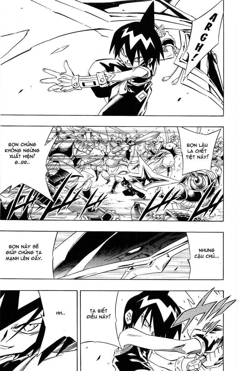 Shaman King [Vua pháp thuật] chap 244 trang 10