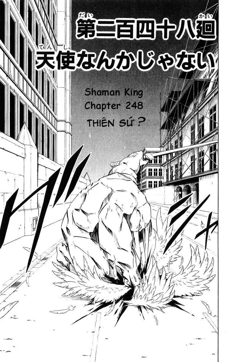 Shaman King [Vua pháp thuật] chap 248 trang 3