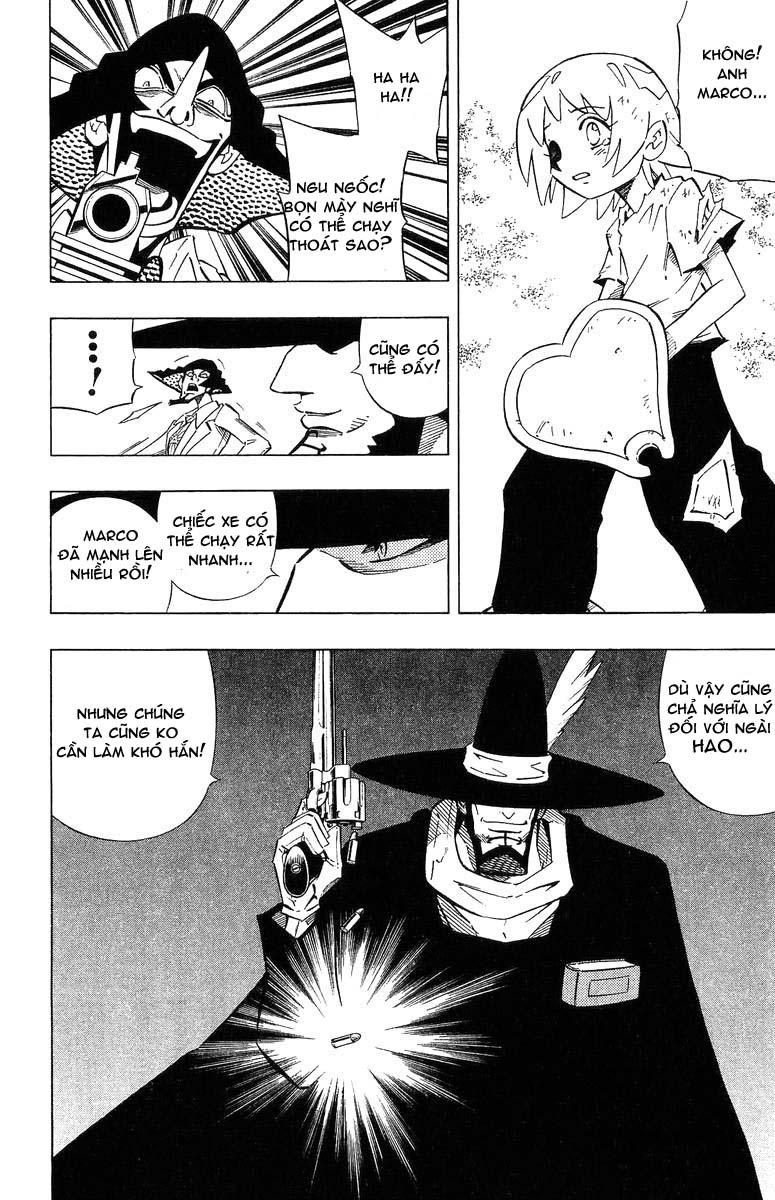 Shaman King [Vua pháp thuật] chap 243 trang 4