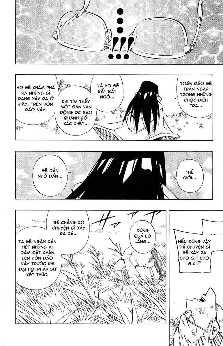 Shaman King [Vua pháp thuật] chap 243 trang 9