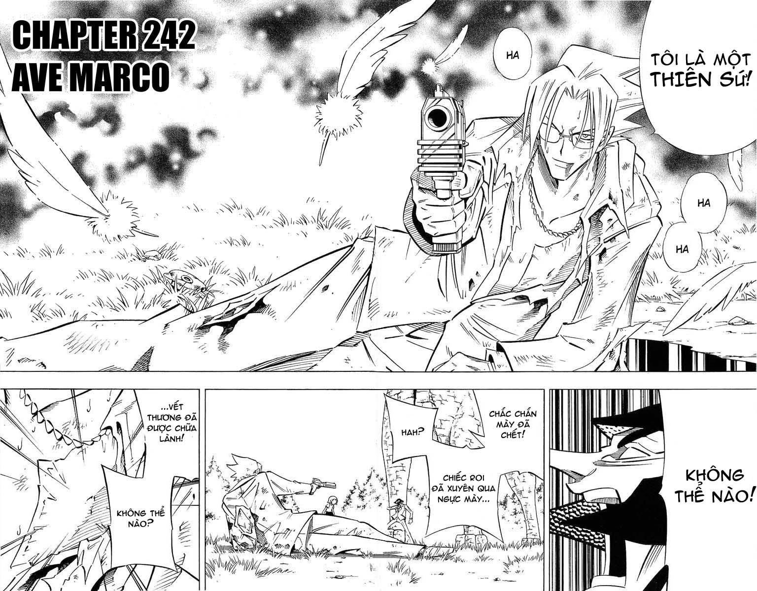 Shaman King [Vua pháp thuật] chap 242 trang 2
