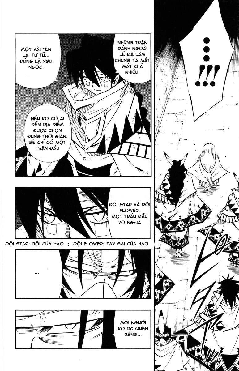 Shaman King [Vua pháp thuật] chap 243 trang 13