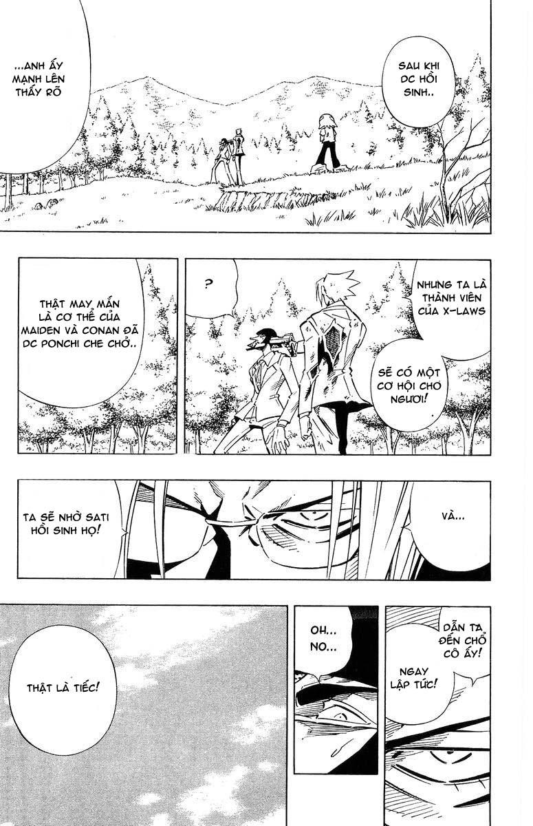 Shaman King [Vua pháp thuật] chap 242 trang 10
