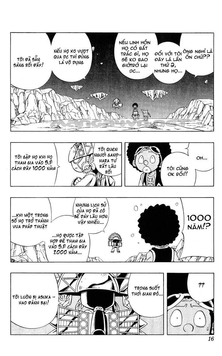 Shaman King [Vua pháp thuật] chap 240 trang 6