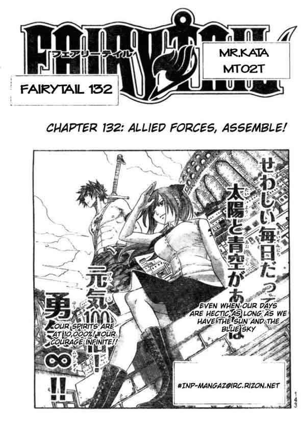 Fairy Tail chap 132 trang 1