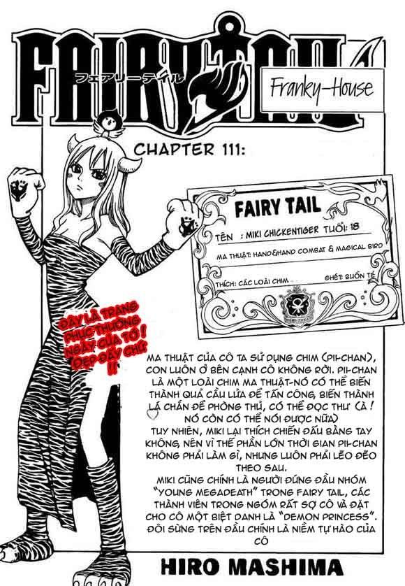 Fairy Tail chap 111 trang 1