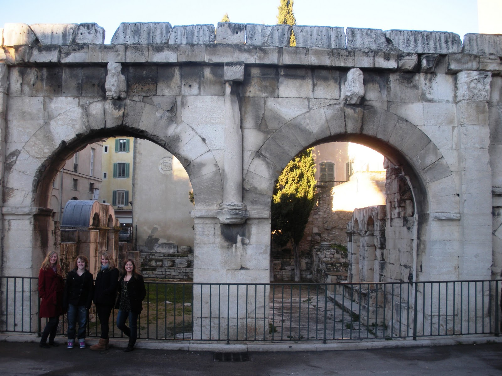 Fashion Me French: Roman Ruins and Bad Puns in Nîmes