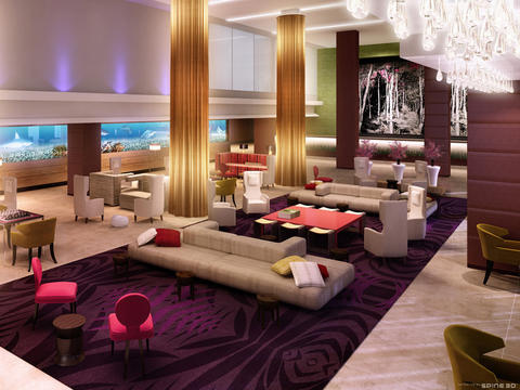 Architecture homes modern decoration and lightring for Hotel interior decor
